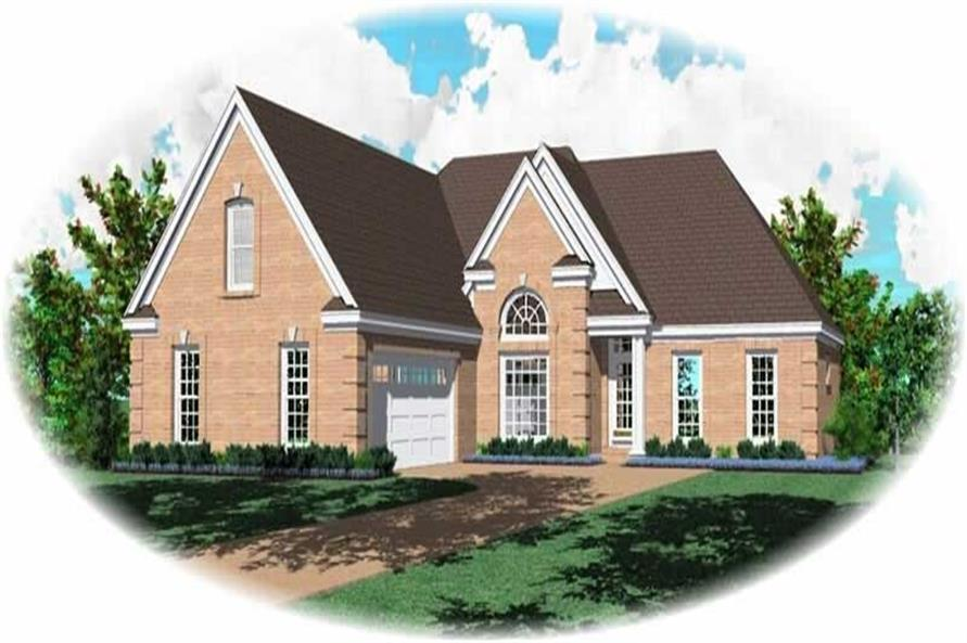 Main image for house plan # 10552