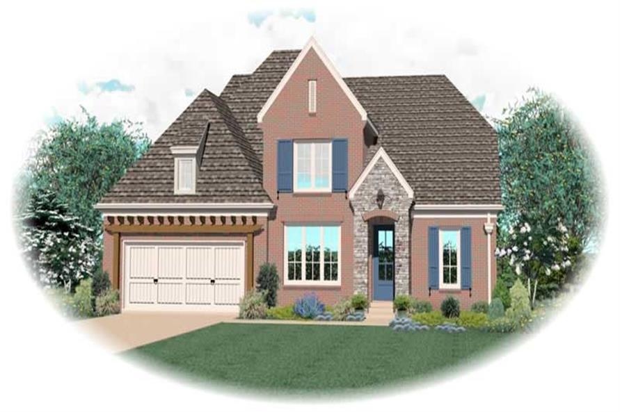 Main image for house plan # 10513