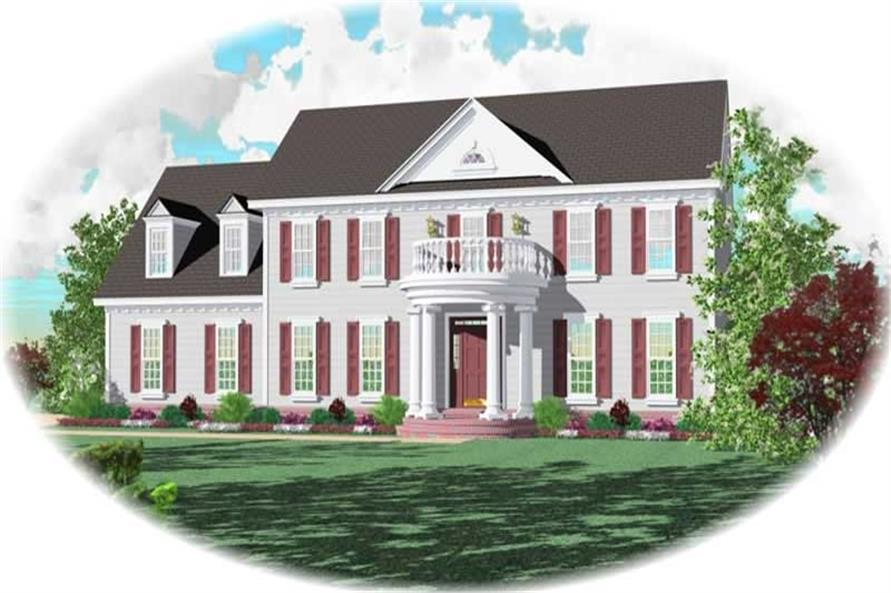 Main image for house plan # 10632