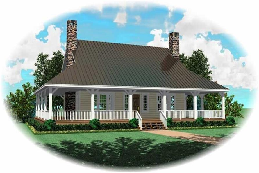 Main image for house plan # 10636