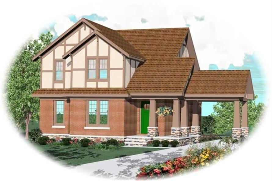 Main image for house plan # 10641