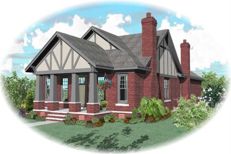 Main image for house plan # 10468