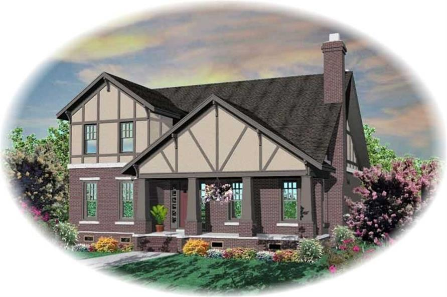 Main image for house plan # 10463