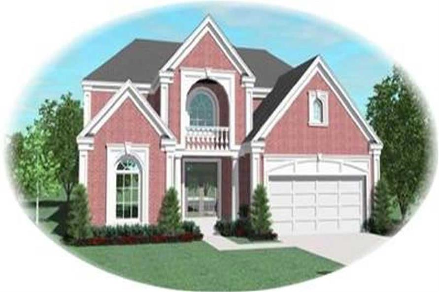 Main image for house plan # 8384