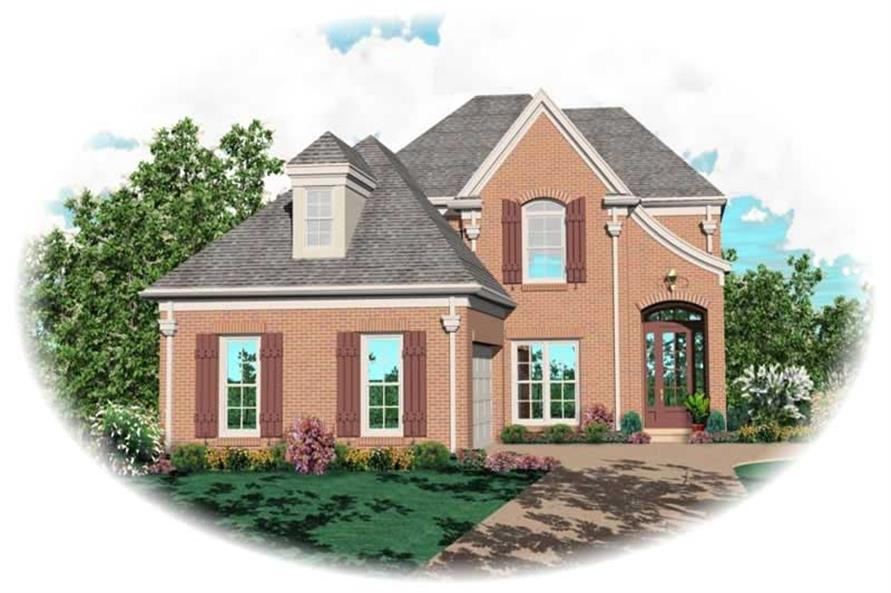Main image for house plan # 10388