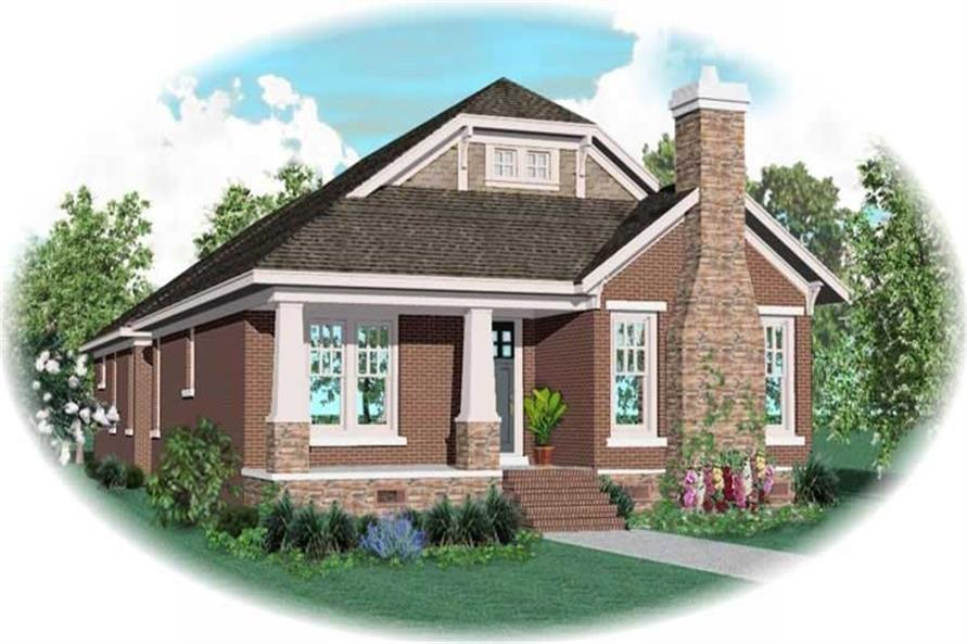 Main image for house plan # 10677