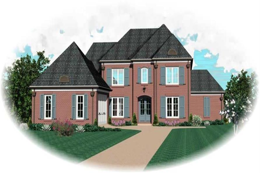Main image for house plan # 10680