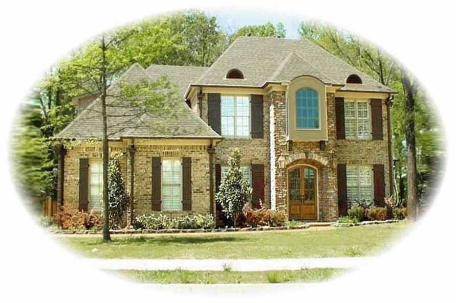 Main image for house plan # 10683