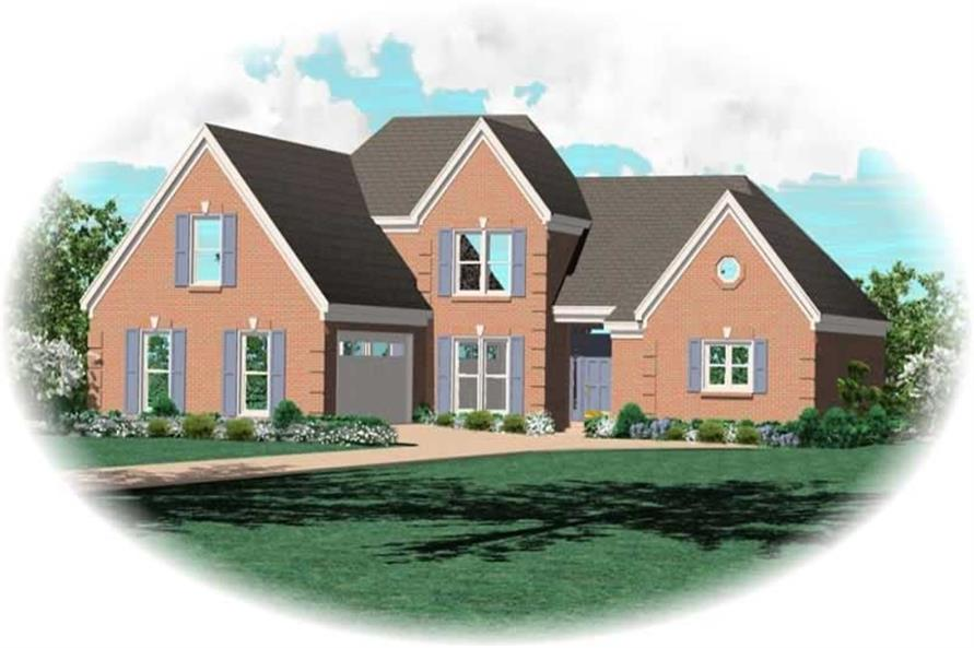 Main image for house plan # 10816