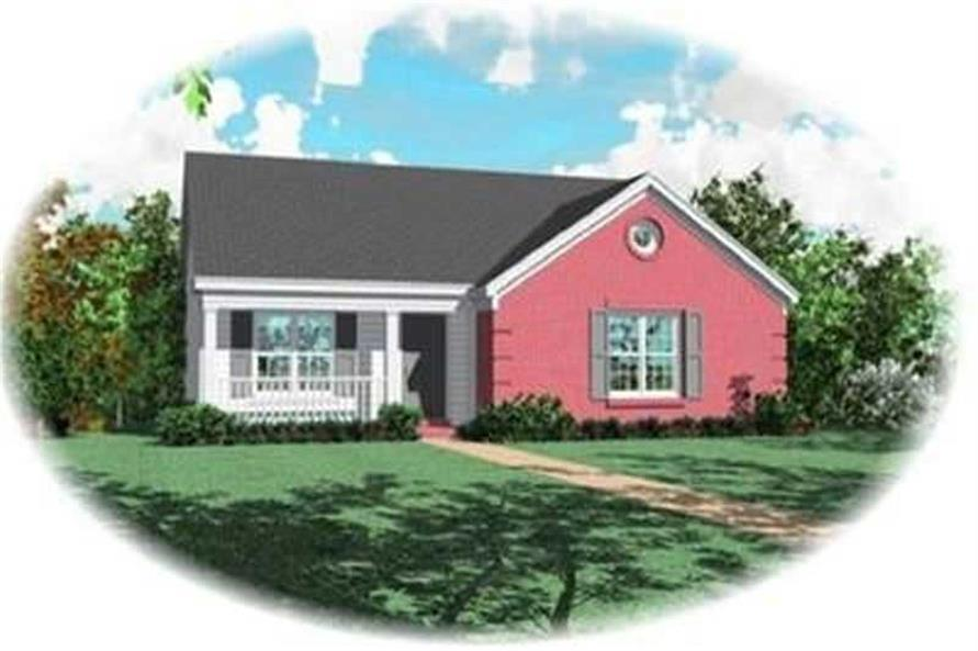Main image for house plan # 8272