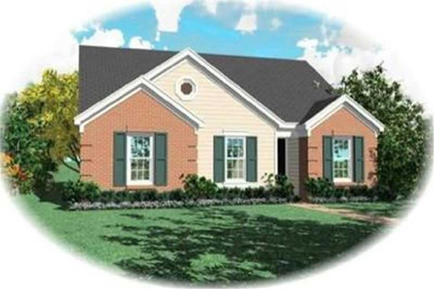 Main image for house plan # 8276