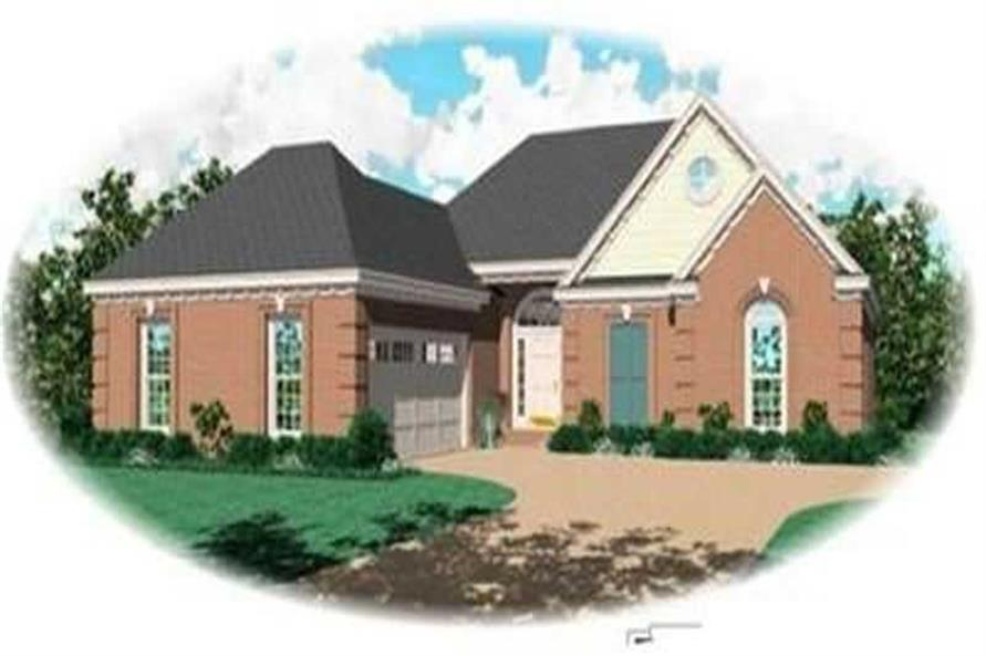 Main image for house plan # 8280