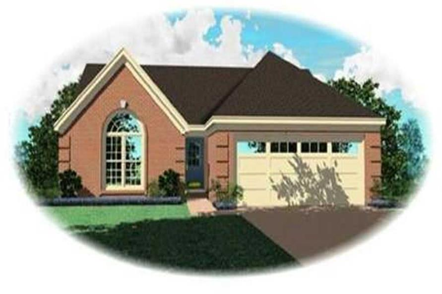 Main image for house plan # 8282
