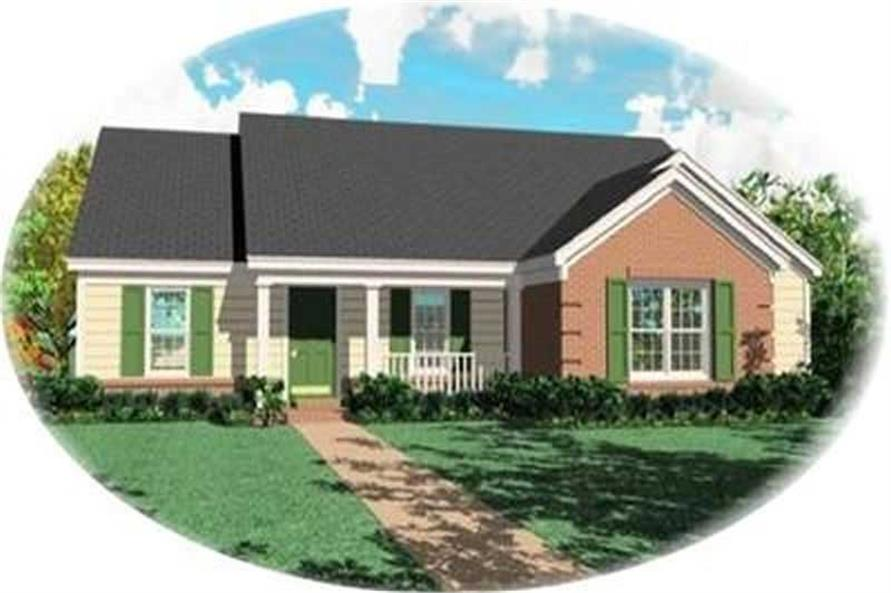 Main image for house plan # 8293