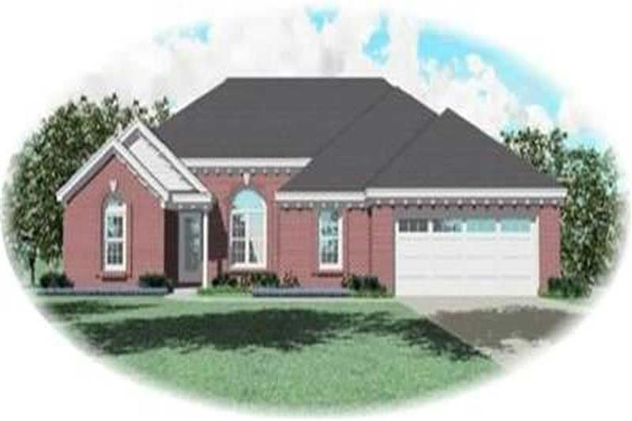 Main image for house plan # 8291