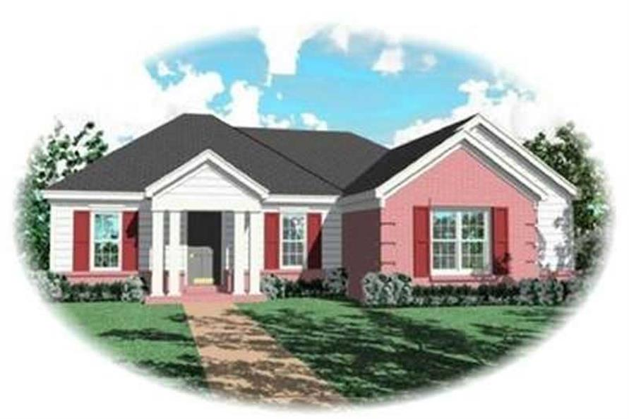 Main image for house plan # 8289