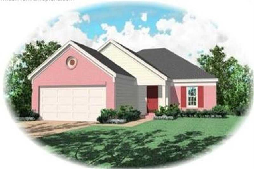 Main image for house plan # 8277