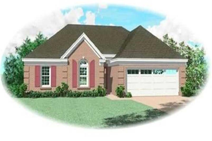 Main image for house plan # 8264