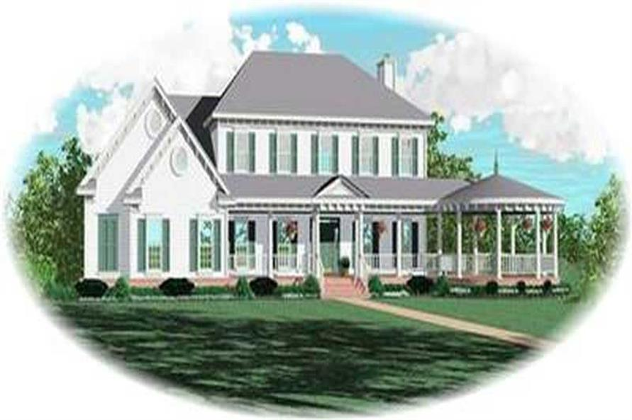 Main image for house plan # 8416