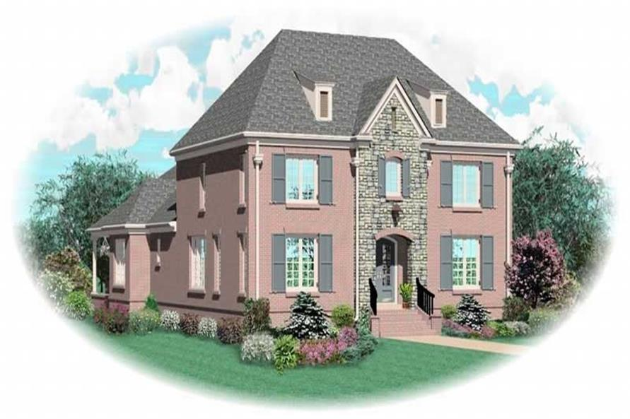Main image for house plan # 10835