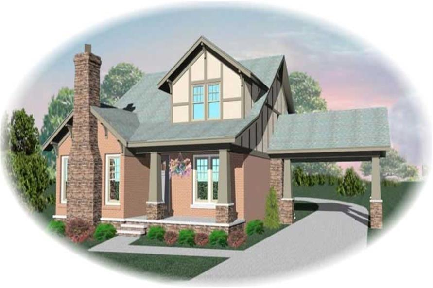 Main image for house plan # 10644