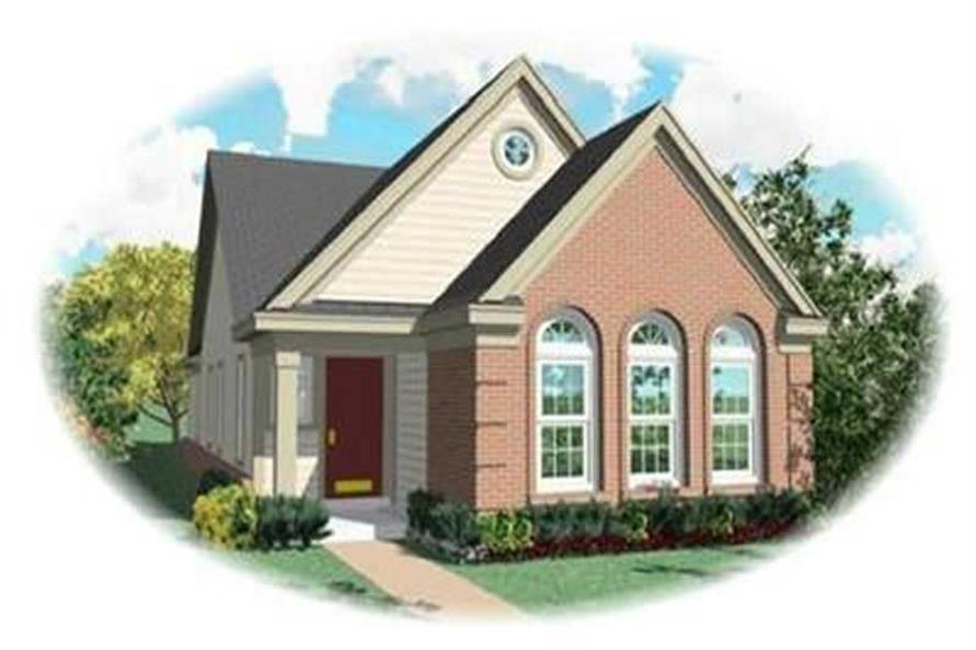 Main image for house plan # 8268