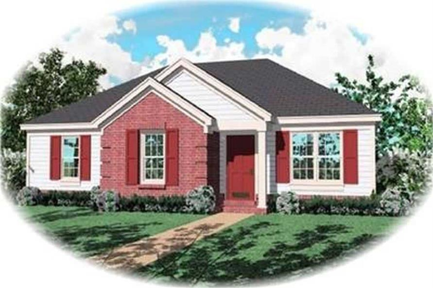 Main image for house plan # 8274