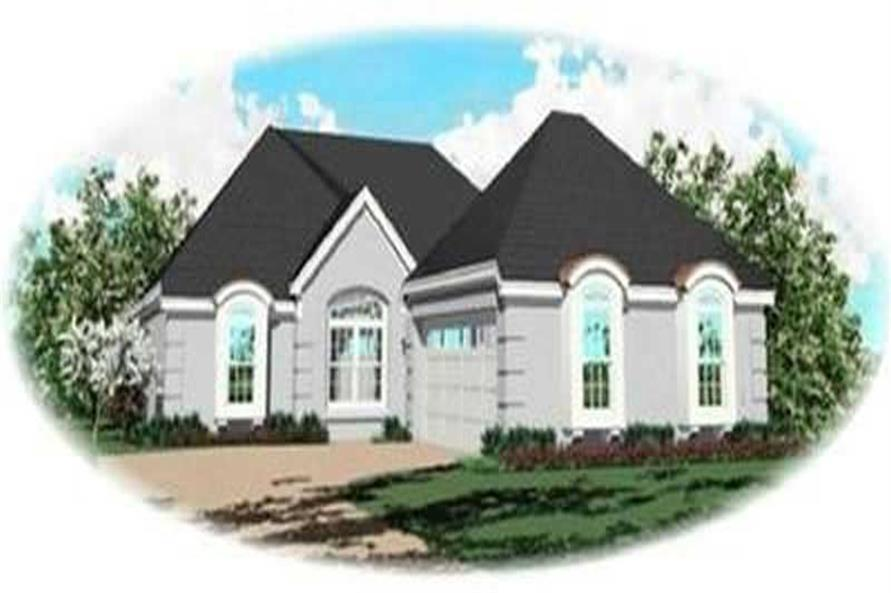 Main image for house plan # 8298
