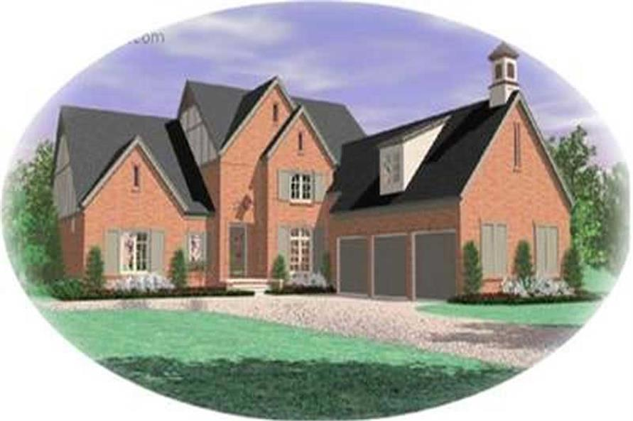 Main image for house plan # 8414