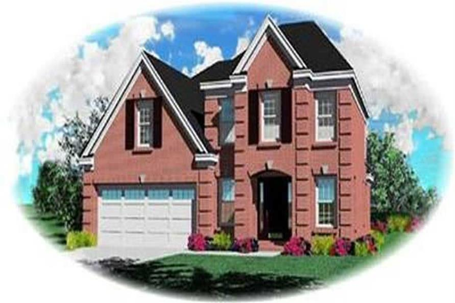 Main image for house plan # 8300