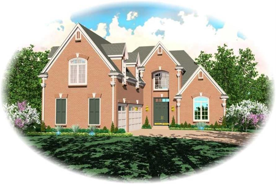 Main image for house plan # 10470
