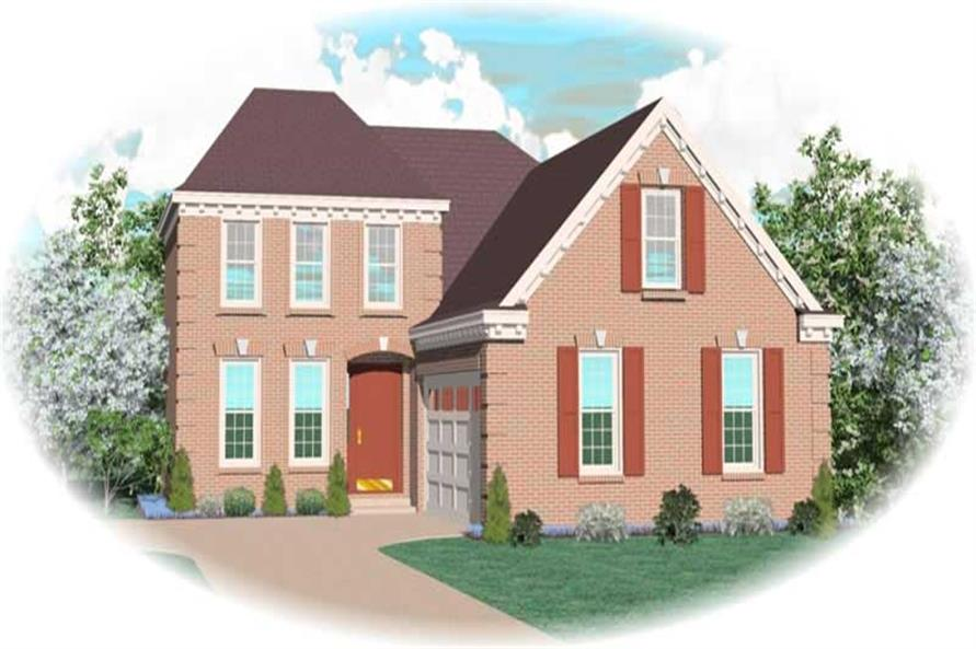 Main image for house plan # 10379