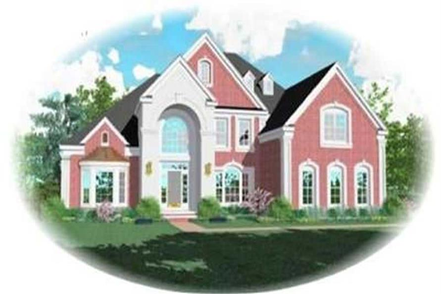 Main image for house plan # 8417