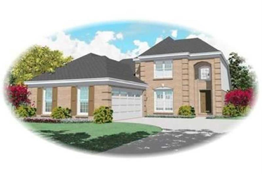 Main image for house plan # 8354