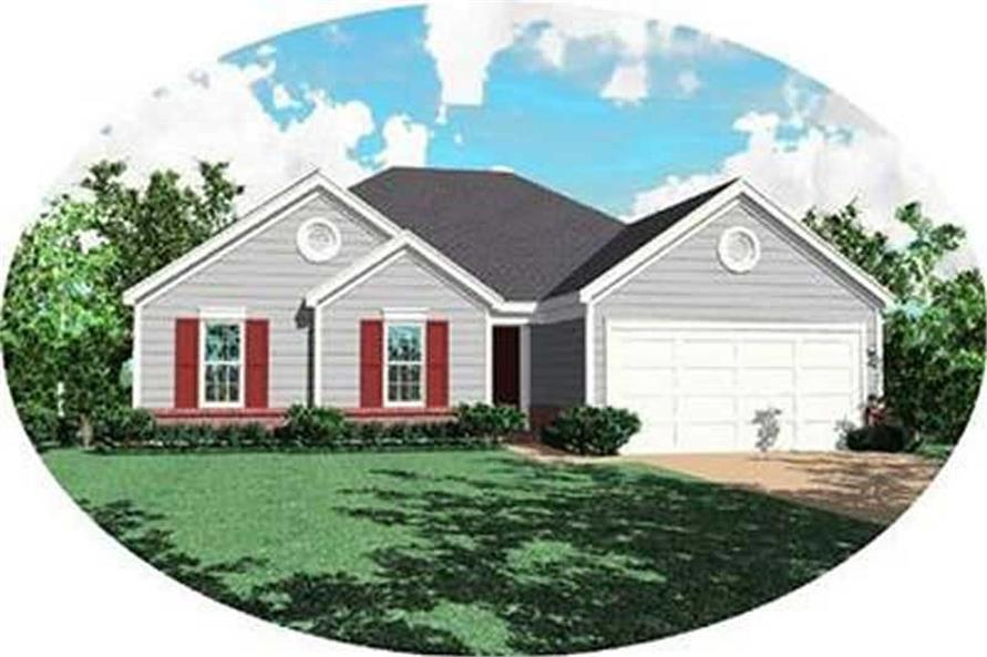 Main image for house plan # 8267