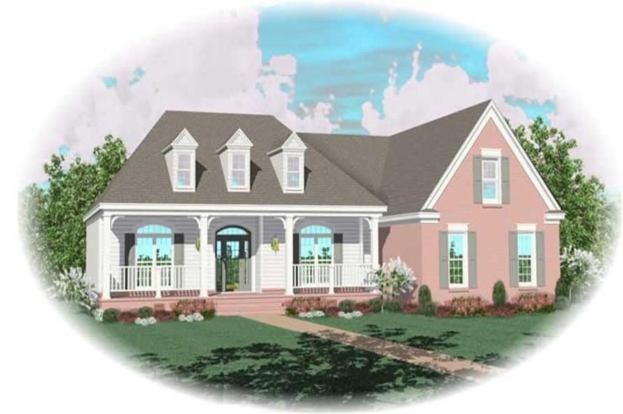 Main image for house plan # 10478
