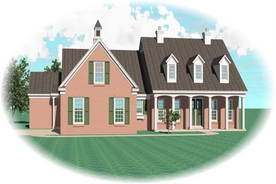 Main image for house plan # 10669