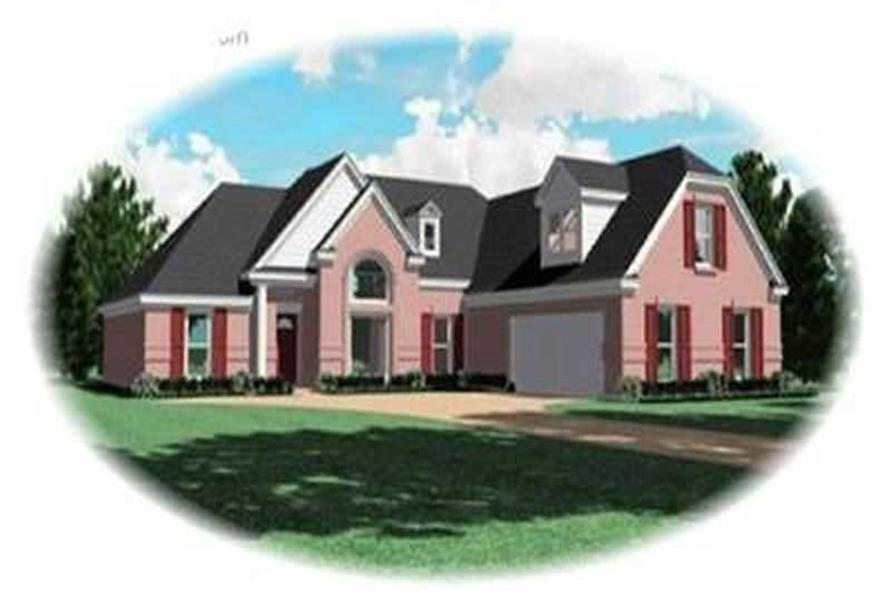 Main image for house plan # 8386