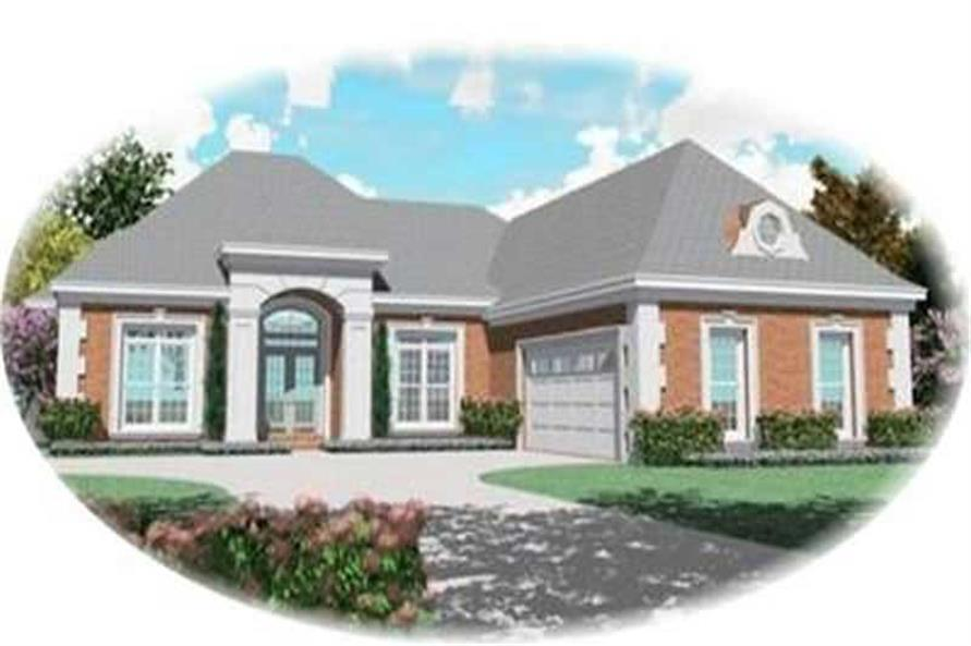 Main image for house plan # 8390