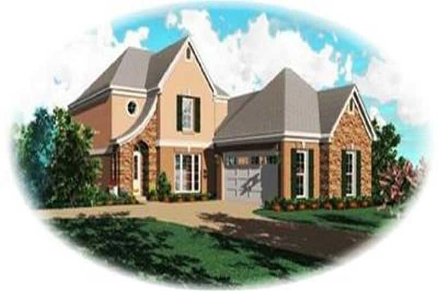 Main image for house plan # 8389