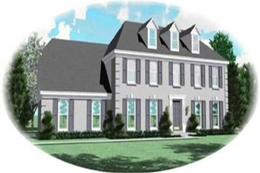 Main image for house plan # 8387