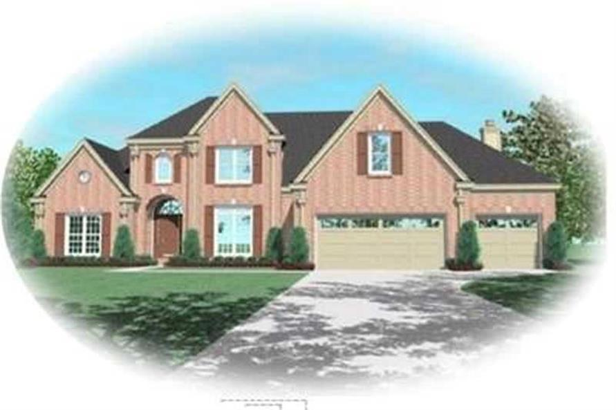 Main image for house plan # 8391