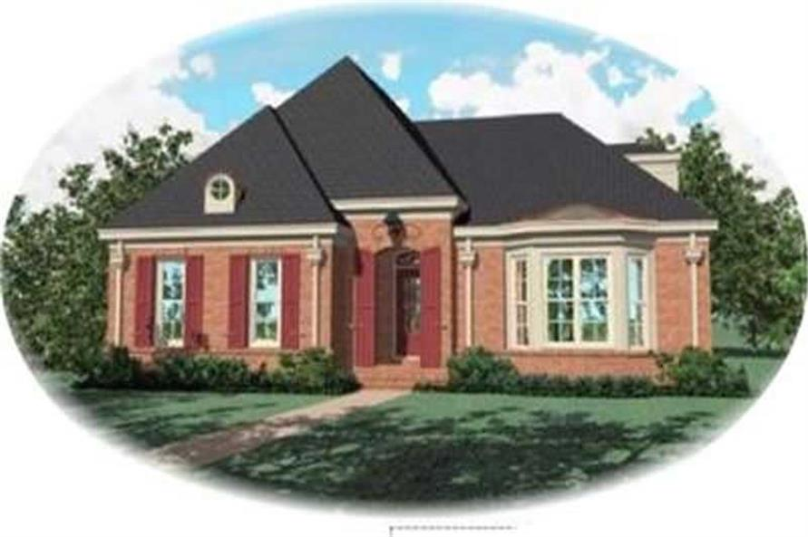 Main image for house plan # 8395