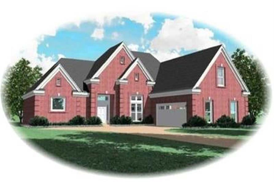Main image for house plan # 8367