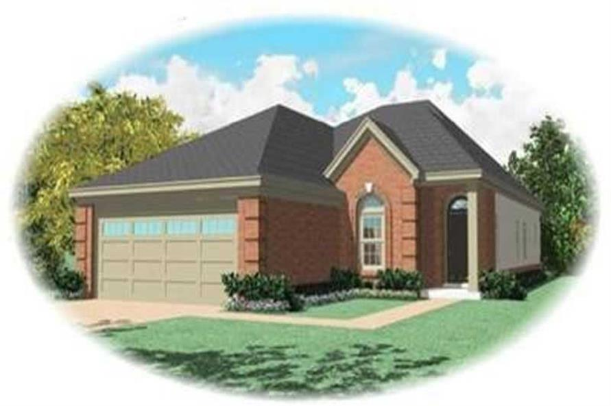 Main image for house plan # 8322