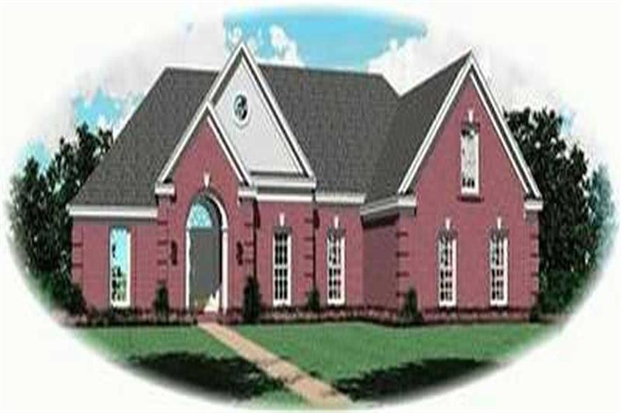 Main image for house plan # 8375