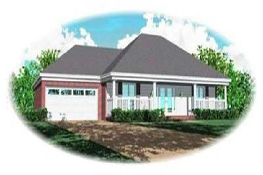 Main image for house plan # 8377
