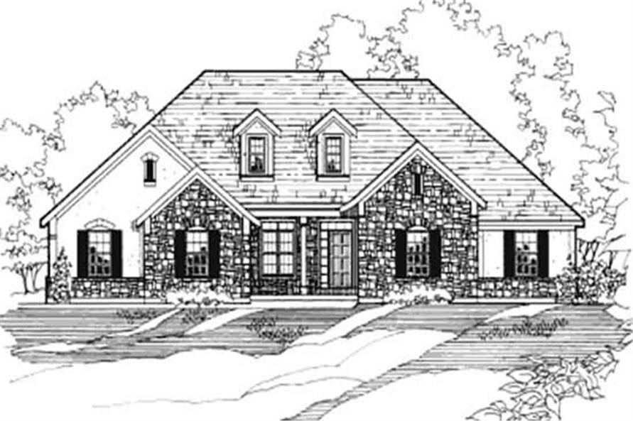 Main image for house plan # 3191
