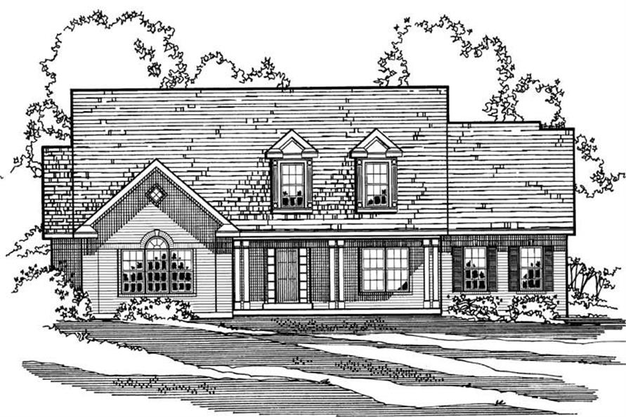 Main image for house plan # 3212