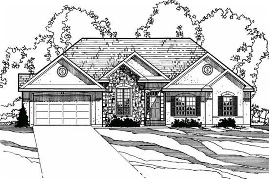 Main image for house plan # 3211